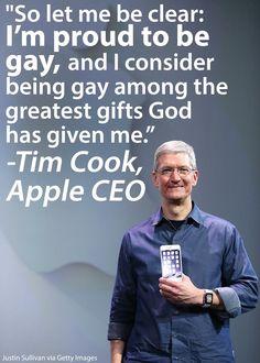 تيم كوك … آبل …والمثليين!